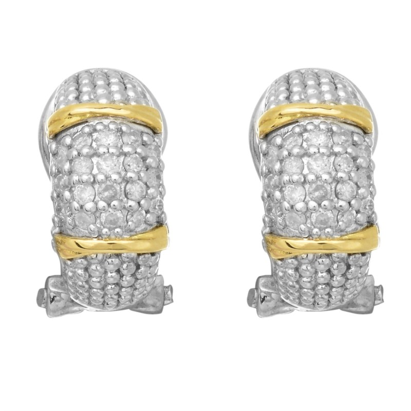 Diamond Earrings by Phillip Gavriel