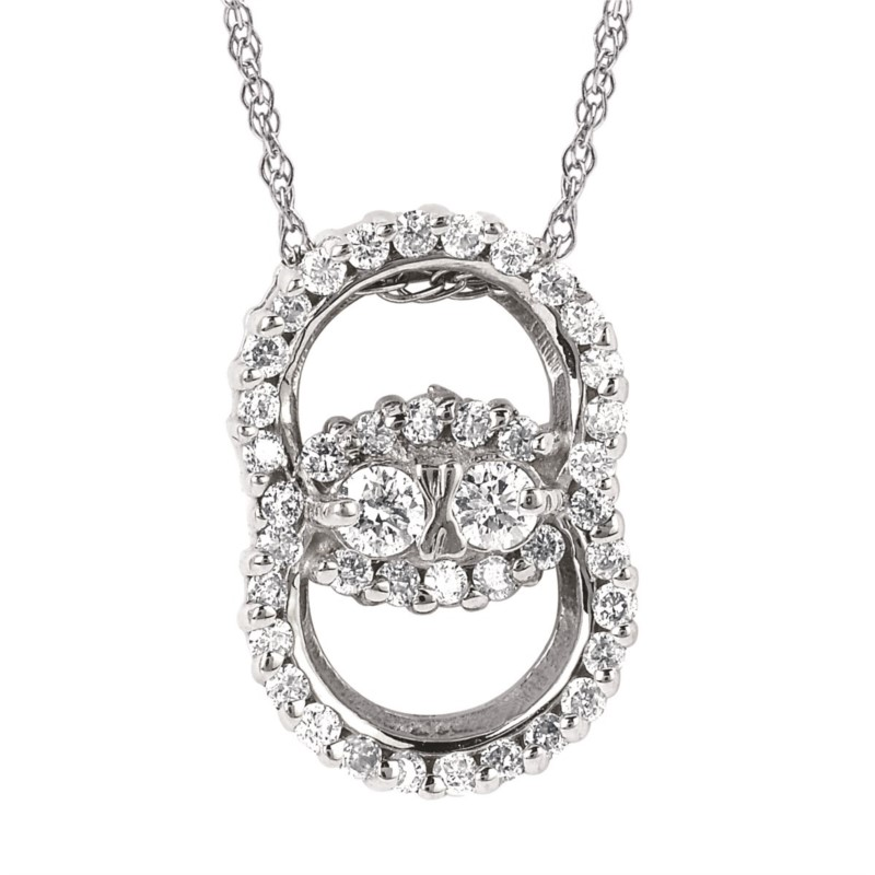 Diamond Pendant by Diamond Marriage Symbol