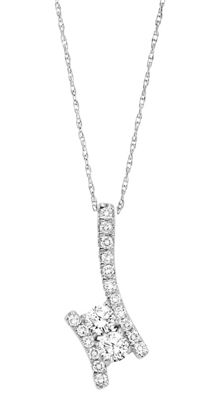 Diamond Necklace by Twogether