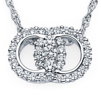 Diamond Necklace by Diamond Marriage Symbol