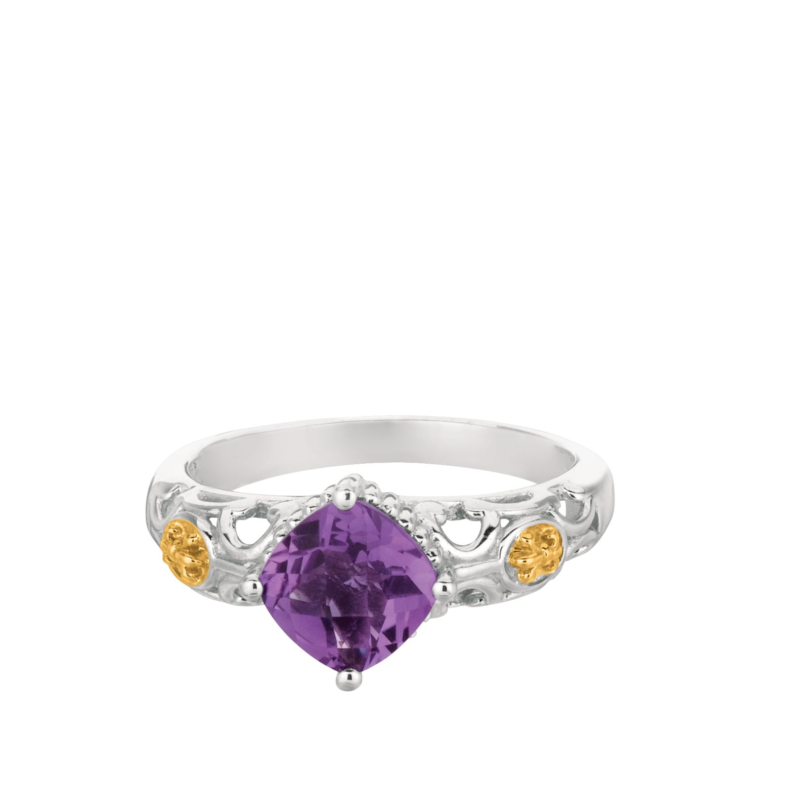 Colored Stone Ring by Phillip Gavriel